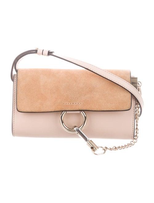 Chloé Mini Faye Crossbody Bag Pink