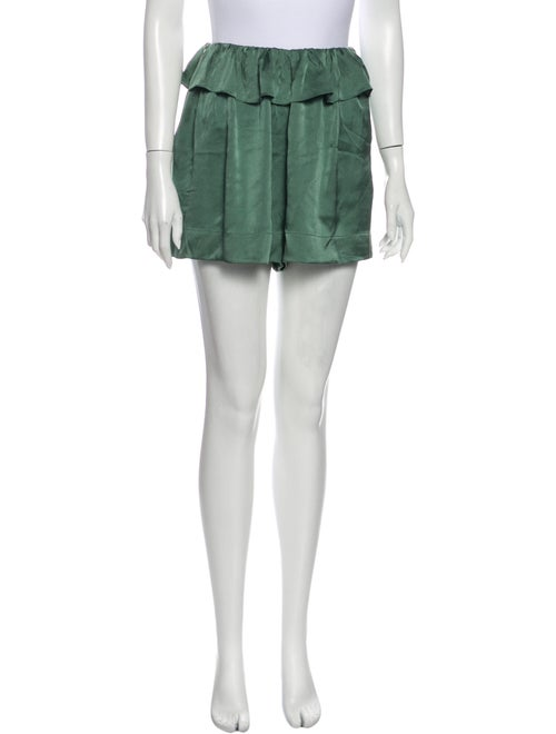 Chloé Mini Shorts Green