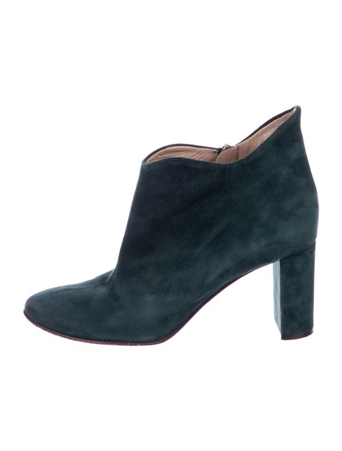 Chloé Suede Boots Green