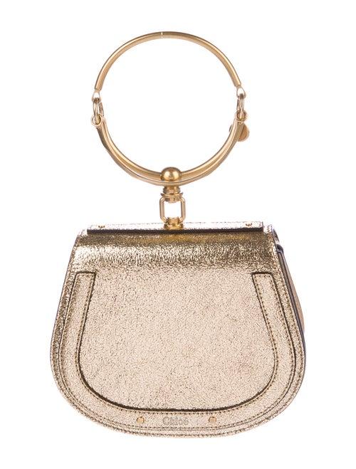 Chloé Metallic Nile Bracelet Bag Gold