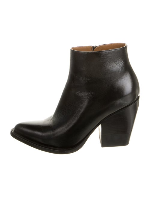Chloé Leather Boots Black