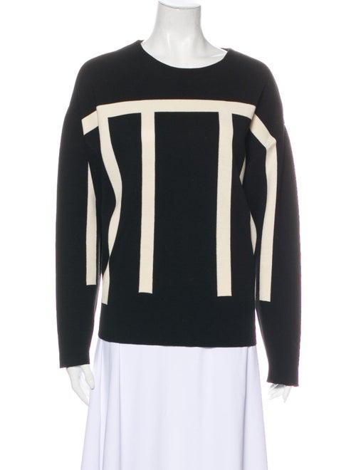 Chloé Virgin Wool Striped Sweater Wool