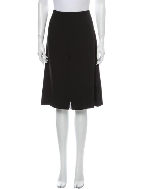 Chloé Knee-Length Skirt Black