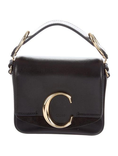 Chloé Mini C Crossbody Bag Black