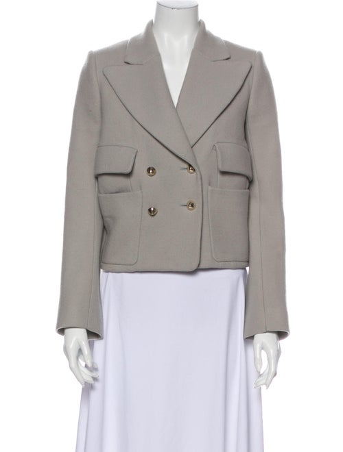 Chloé Virgin Wool Blazer Wool