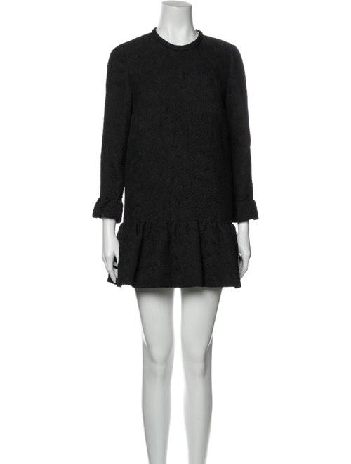 Chloé Silk Mini Dress Black