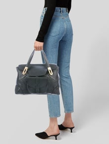 Chloé Leather Tote Bag