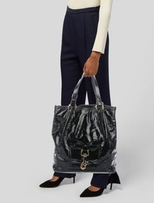 Chloé Patent Leather Tote