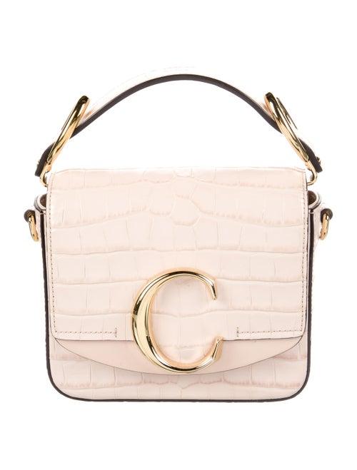 Chloé Mini C Crossbody Bag Gold
