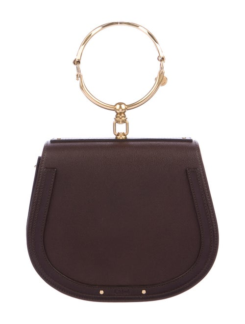 Chloé Medium Nile Bracelet Bag Brown