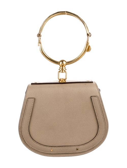 Chloé Small Nile Crossbody Grey