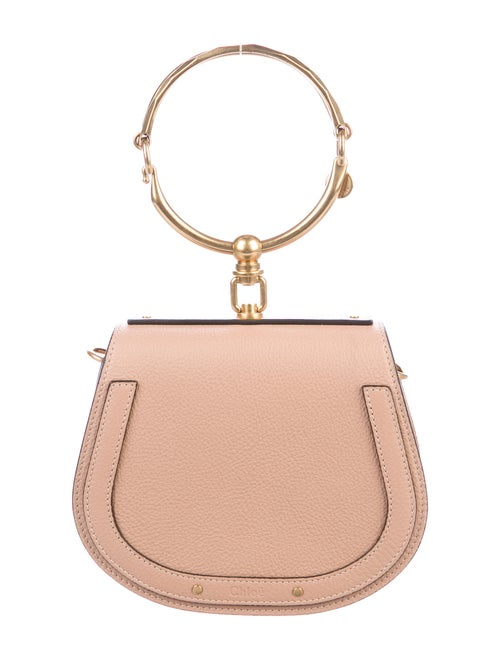 Chloé Small Nile Bracelet Bag Pink