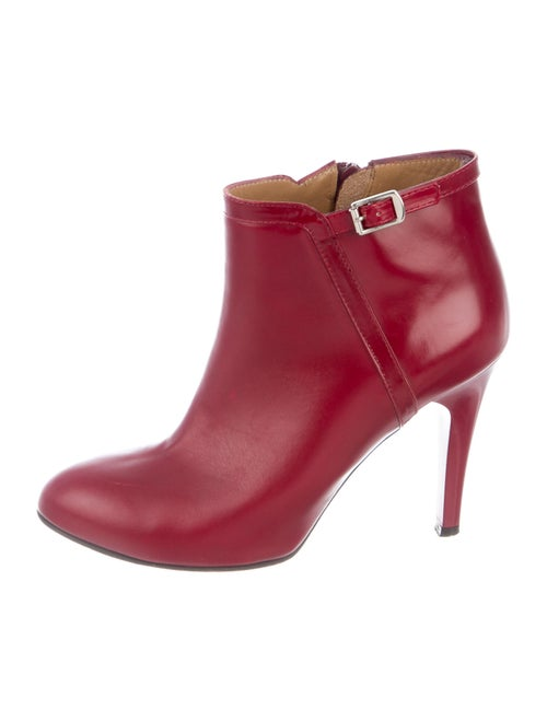 Chloé Leather Boots Red