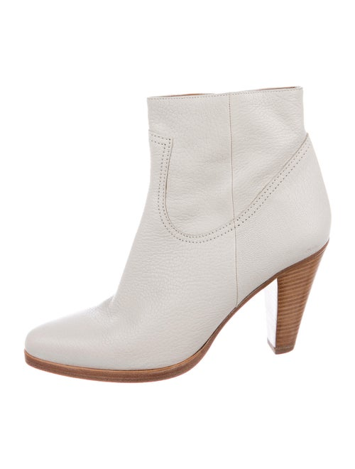 Chloé Leather Boots White