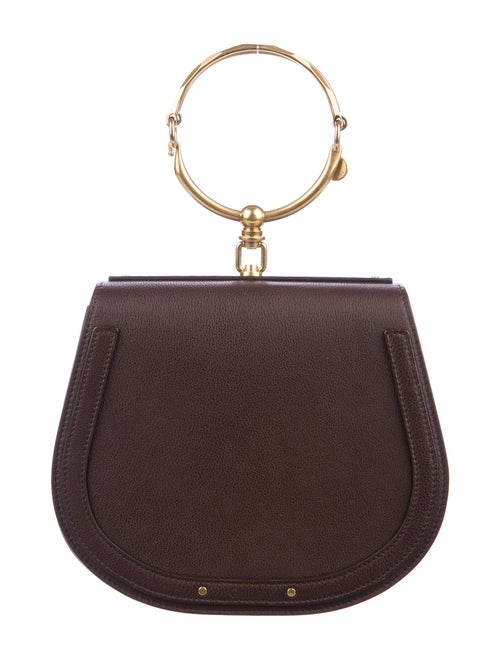Chloé Nile Bracelet Bag Brown