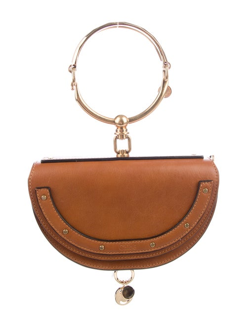 Chloé Small Nile Minaudière Brown