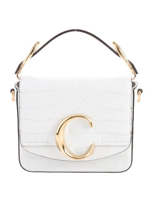Chloé Chloé C Mini Bag White