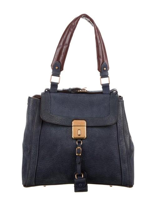 Chloé Leather Shoulder Bag Blue