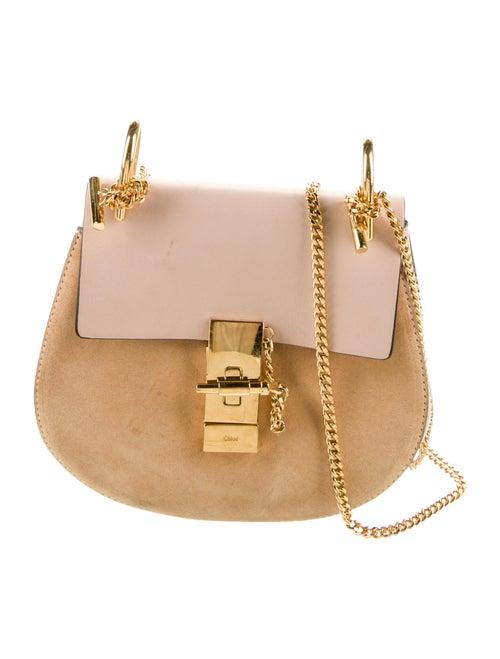 Chloé Mini Drew Shoulder Bag Gold