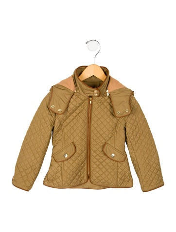 Chloé Girls' Quilted Jacket None