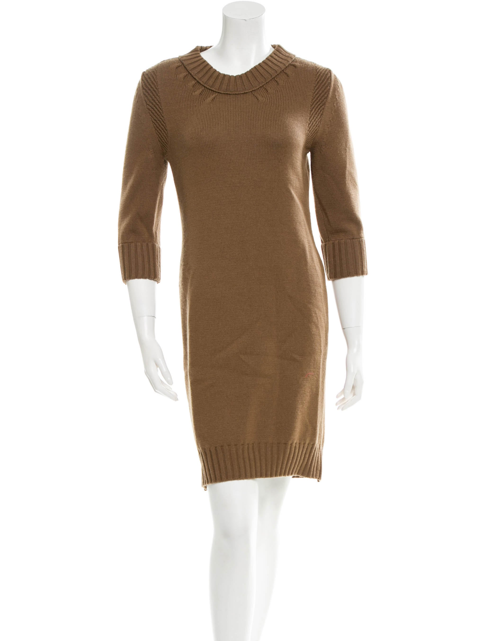Chlou00e9 Wool Sweater Dress - Clothing - CHL35304 | The RealReal