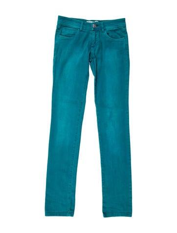 Low-Rise Straight-Leg Jeans