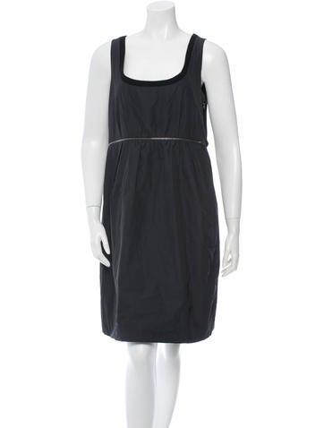 Chloé Scoop Neck A-Line Dress w/ Tags None
