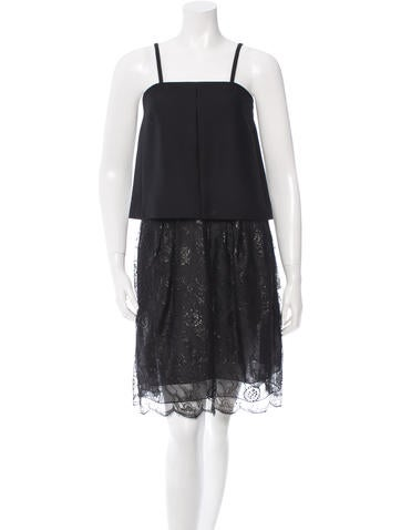 Chlo Sleeveless Lace Dress W Tags Clothing Chl38600 The Realreal