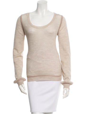 Chloé Wool Knit Top None