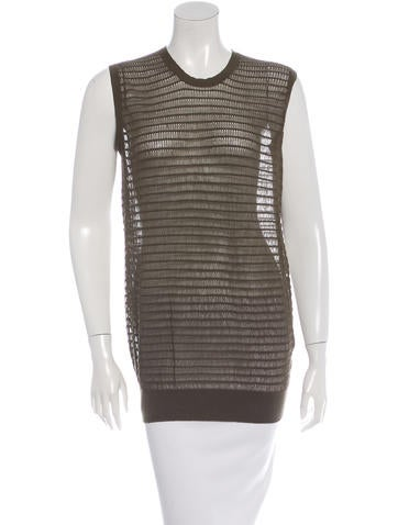 Chloé Sleeveless Knit Top None