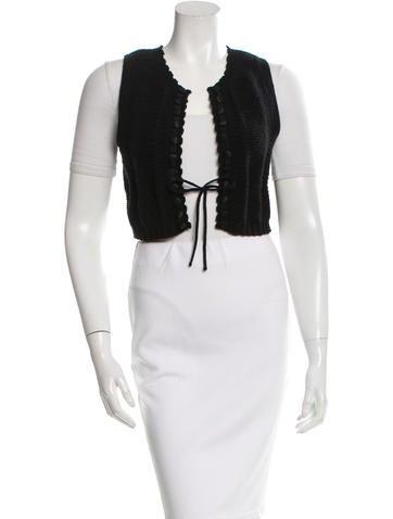 Chloé Wool Knit Vest None