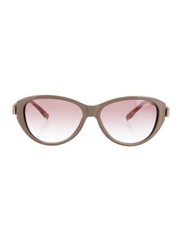 Chloé Marbled Gradient Sunglasses