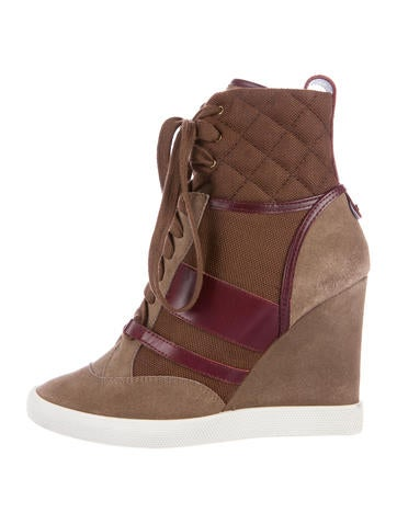 Kasia Wedge Sneakers