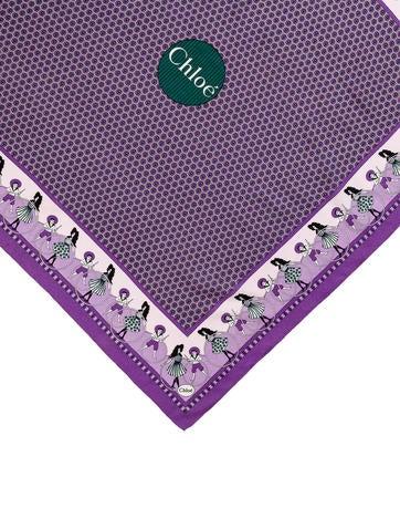 Printed Silk Scarf