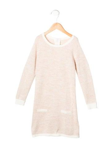 Chloé Girls' Metallic Knit Dress None