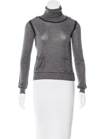 Chloé Wool Turtleneck Sweater None
