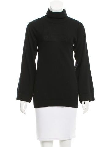 Chloé Wool Turtleneck Sweater None