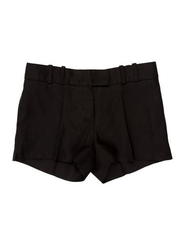 Mid-Rise Woven Shorts