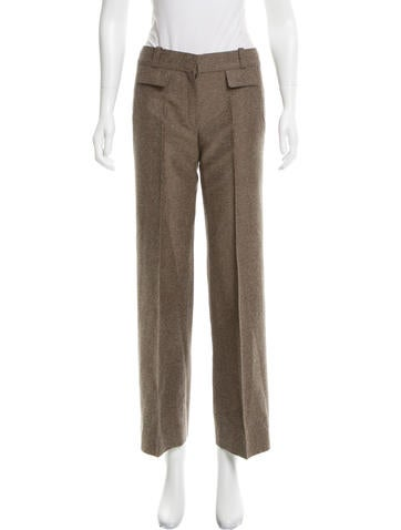 Chloé Silk Wide-Leg Pants