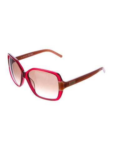 Colorblock Oversize Sunglasses