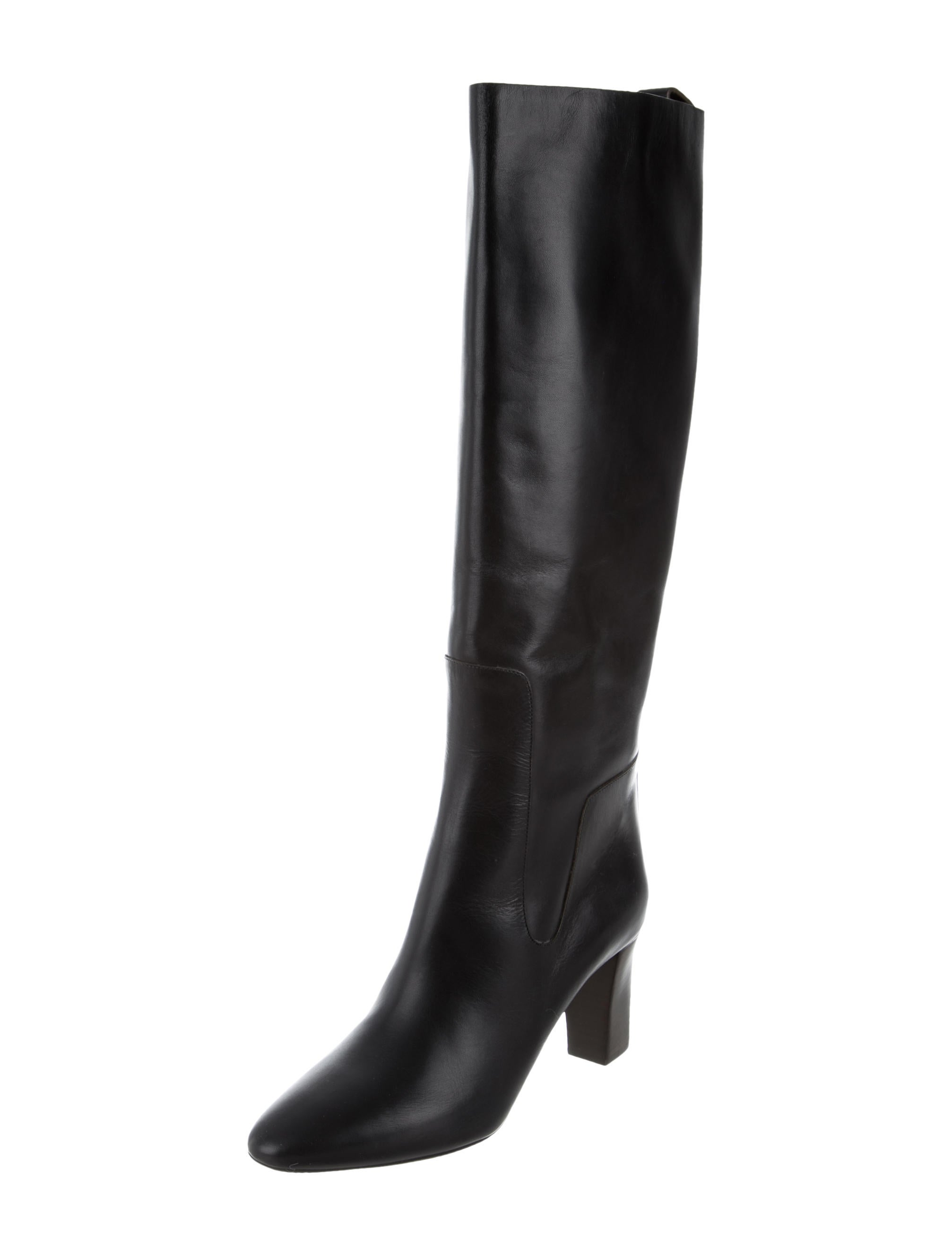 chlo 233 pointed toe knee high boots shoes chl49173 the