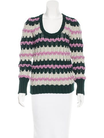 cWool Wide-Knit Sweater None