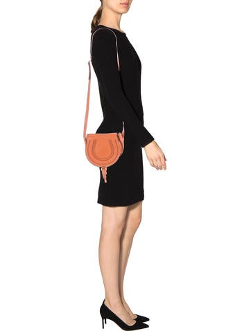 Small Marcie Saddle Crossbody Bag