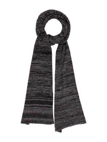Chloé Striped Knit Scarf None