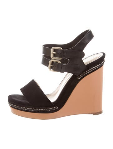 Chloé Multistrap Platform Wedges None