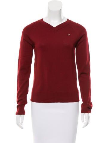 Chloé Wool Rib Knit Sweater None