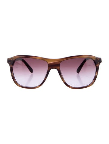 Chloé Tortoiseshell Tinted Sunglasses