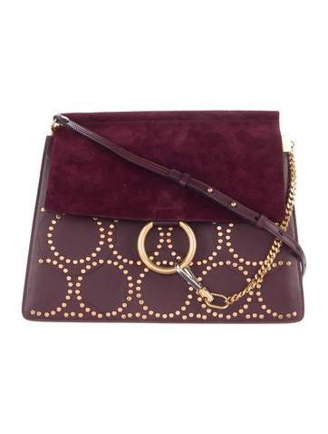 Chloé Medium Studded Faye Bag w/ Tags