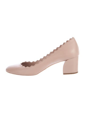 Chloé Lauren Scalloped Pumps