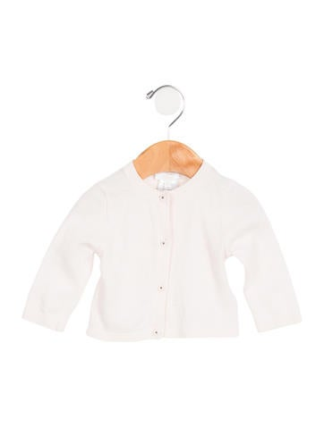 Chloé Girls' Knit Button-Up Cardigan None